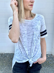Jaquelyn Short Sleeve Tee - Smith & Vena Online Boutique