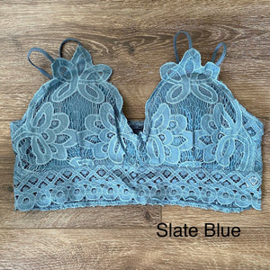 PLUS Lacey Bralette - Smith & Vena Online Boutique
