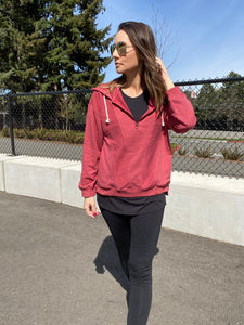 Rory Half Zip Hoodie - Smith & Vena Online Boutique