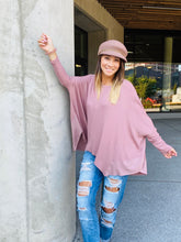 Load image into Gallery viewer, Dylan Oversized Top- Mauve