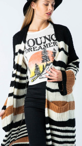 Olivia Knit Cardigan - Smith & Vena Online Boutique