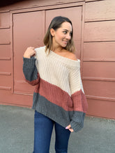 Load image into Gallery viewer, Tara Off Shoulder Sweater