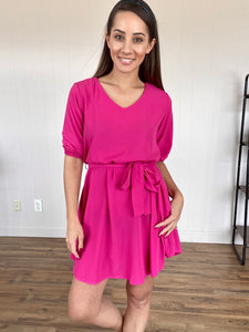 Pink Dress - Smith & Vena Online Boutique