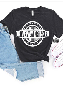 Driveway Drinker Graphic Tee - Smith & Vena Online Boutique