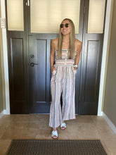 Load image into Gallery viewer, Alicia Striped Jumpsuit - Smith & Vena Online Boutique