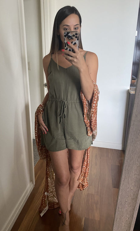 Ryan Tencel Romper - Smith & Vena Online Boutique