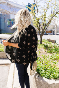 Lace Trimmed Kimono - Smith & Vena Online Boutique