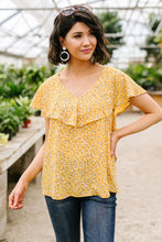Load image into Gallery viewer, Marigold Ruffled Blouse - Smith & Vena Online Boutique