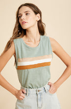 Load image into Gallery viewer, Marley Tank - Sage - Smith & Vena Online Boutique
