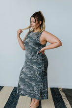 Load image into Gallery viewer, Lara Camo Dress - Smith & Vena Online Boutique