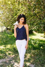 Load image into Gallery viewer, Navy Star Tank - Smith & Vena Online Boutique