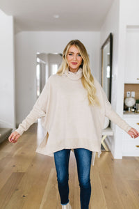 Night Owl Cowl Neck Top - Smith & Vena Online Boutique