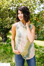 Load image into Gallery viewer, Overprotective Cowl Neck Top In Sage - Smith & Vena Online Boutique