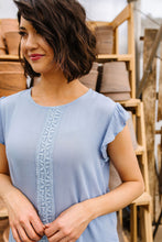 Load image into Gallery viewer, Flutter Sleeve Blouse - Smith & Vena Online Boutique