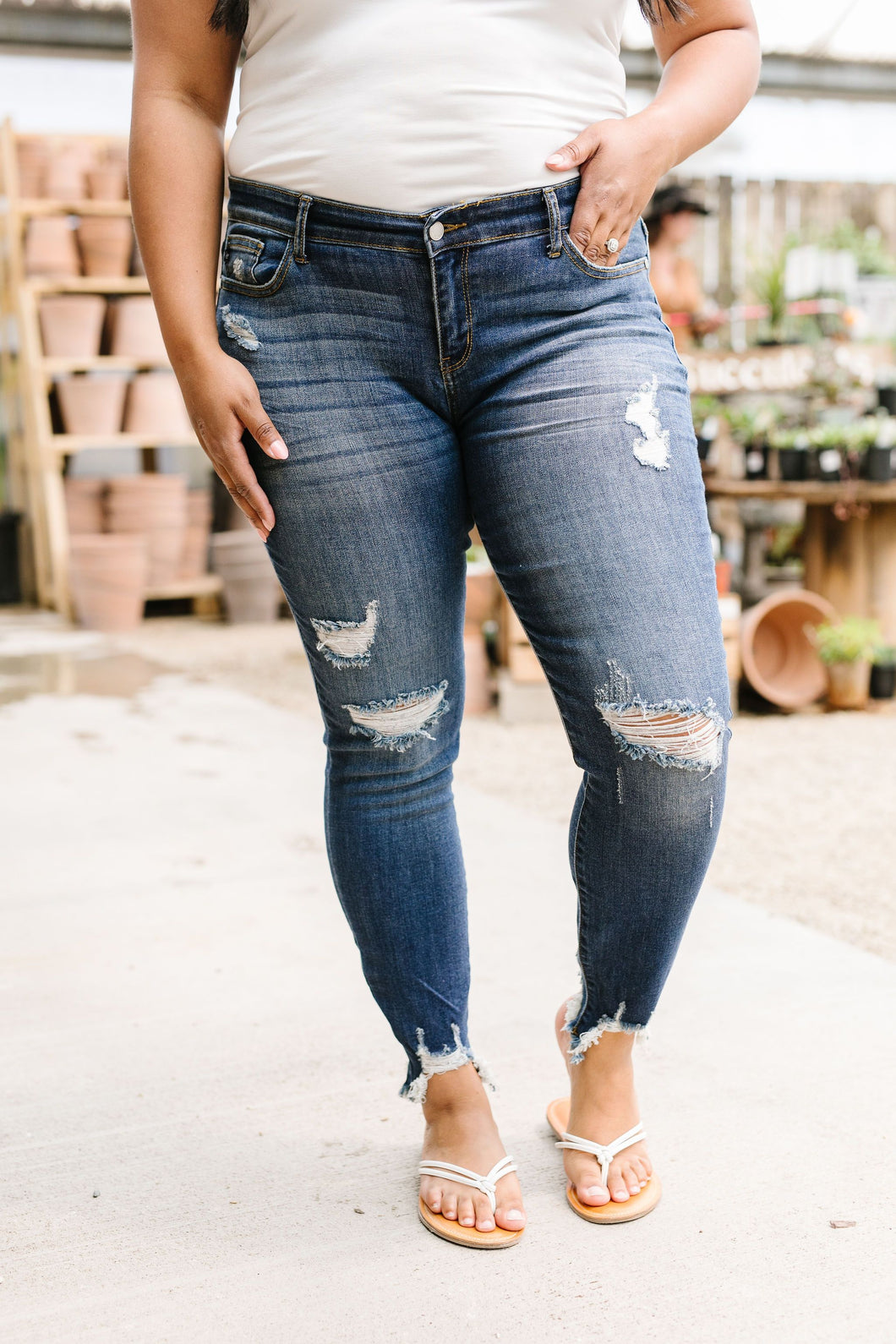 Rip Tide Jeans SAMPLE - Smith & Vena Online Boutique