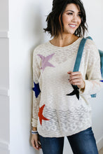 Load image into Gallery viewer, Starring You Sweater In Ivory - Smith & Vena Online Boutique
