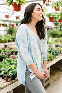 Stormy Day Tie Dye Top - Smith & Vena Online Boutique