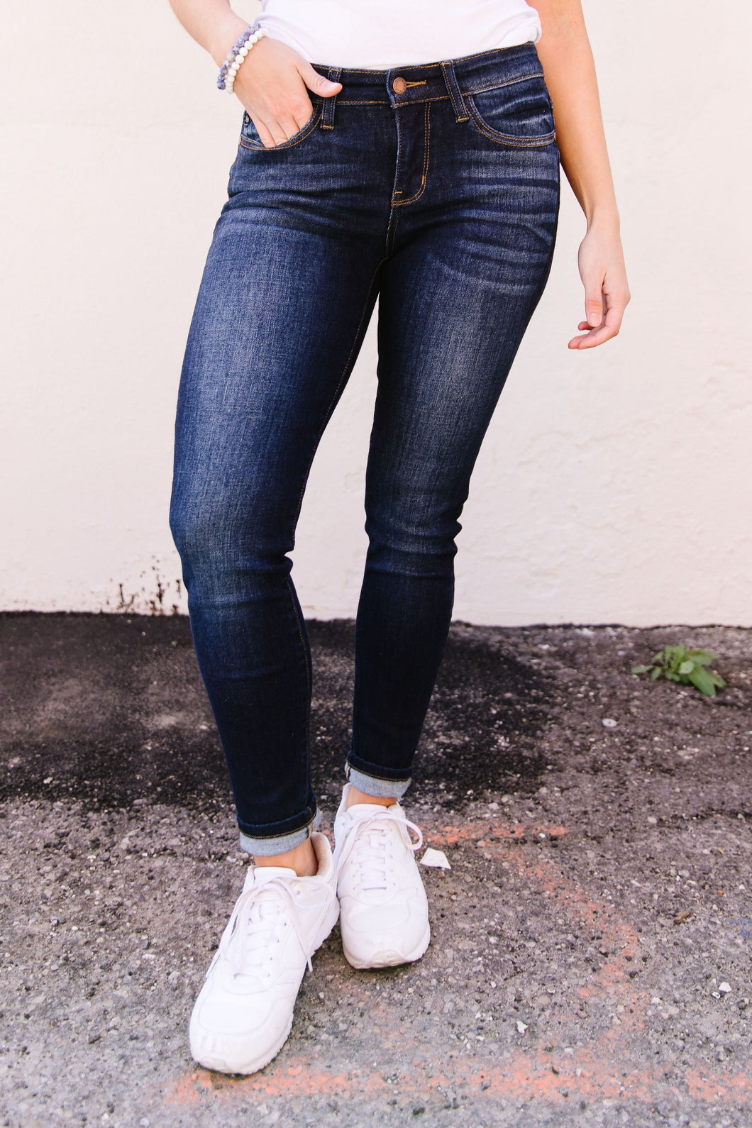 Tall Dark & Fashionable Jeans SAMPLE - Smith & Vena Online Boutique