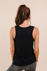 Tank Heavens Black Tank Top - Smith & Vena Online Boutique