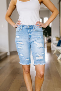 Karly Bermuda Shorts - Smith & Vena Online Boutique