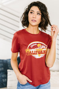 California Graphic Tee - Smith & Vena Online Boutique