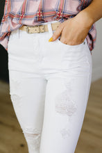 Load image into Gallery viewer, Crystal Skinny Jeans - SAMPLE - Smith & Vena Online Boutique