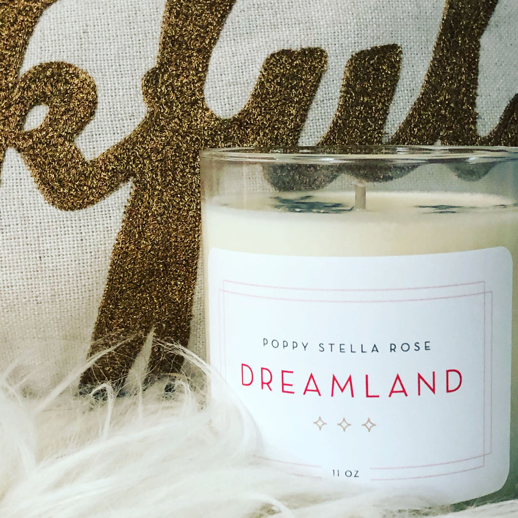 Poppy Stella Rose X Excelsior Candle: Dreamland