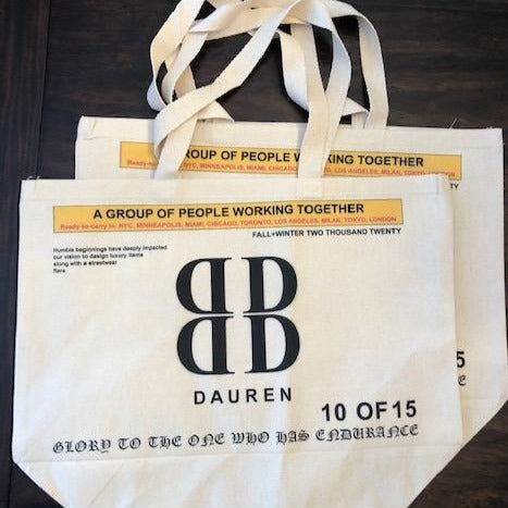 Dauren Casual Luxury reusable tote