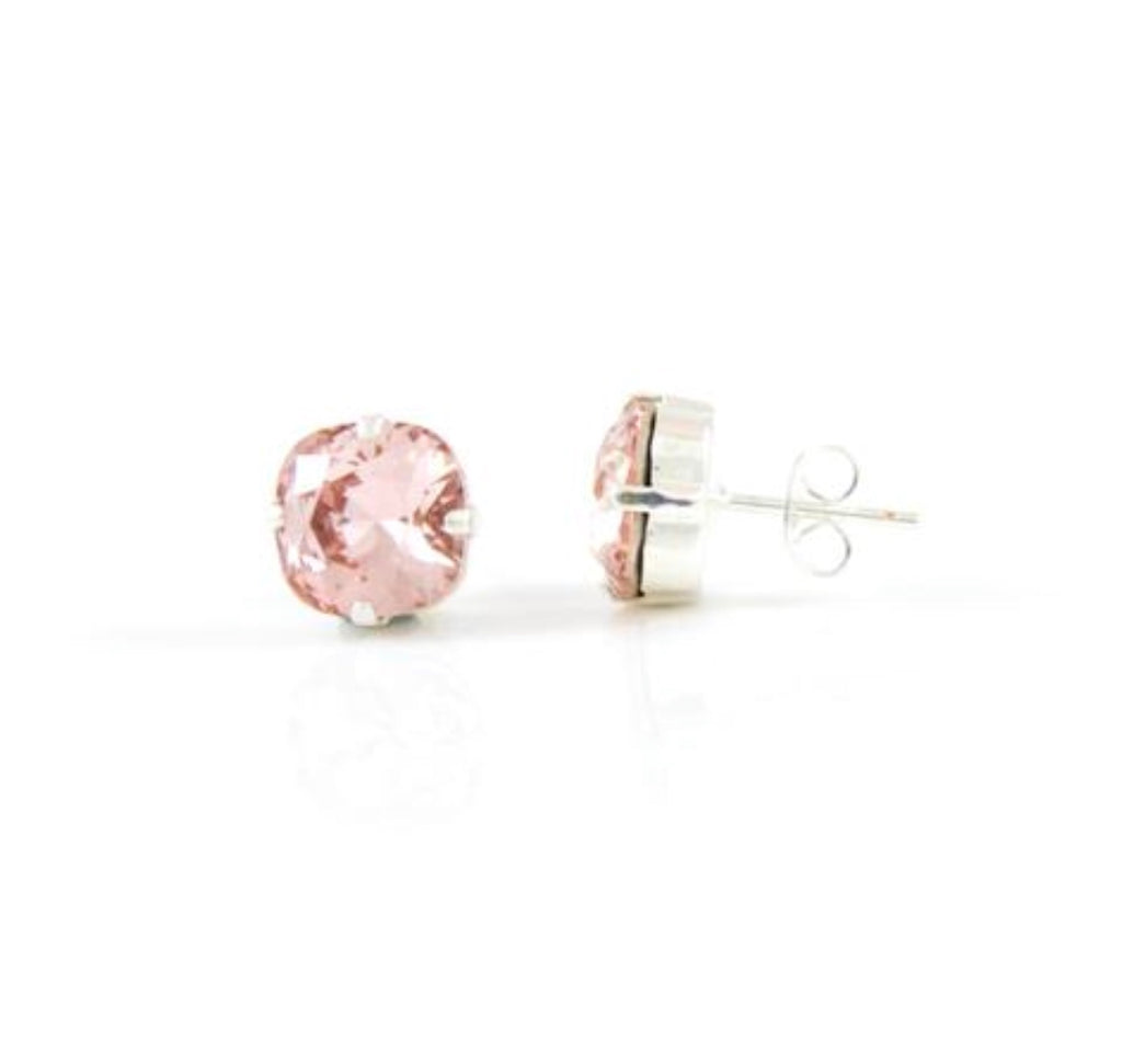 Realia: Vintage Rose Stud Earrings