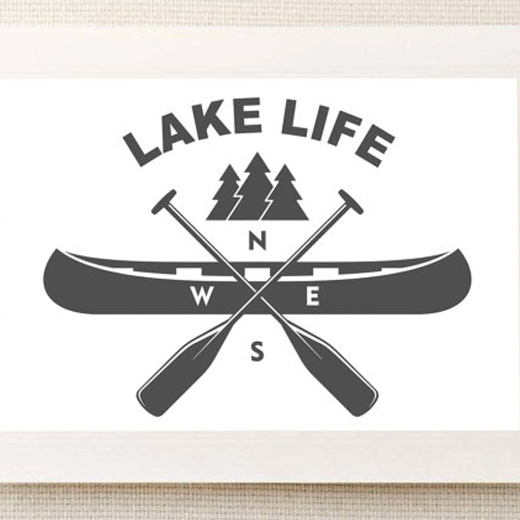 Minne Momma Designs: Lake Life Print