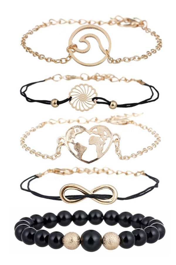 Pulsera estampada multiples
