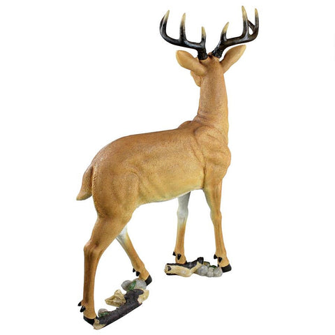 Woodland Buck Deer Statue - Sculptcha