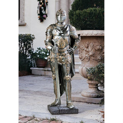 The King's Guard Sculptural Suit of Armor Knight Replica