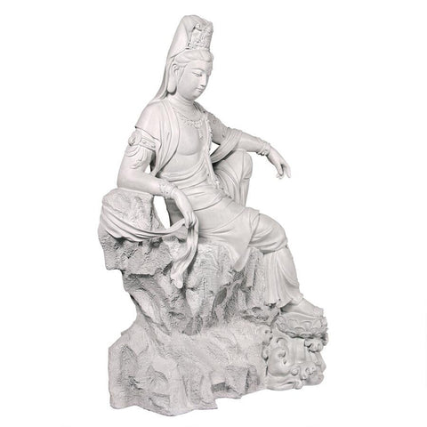 Guan Yin Chinese Goddess of Compassion Statue - Sculptcha