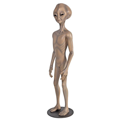 Area 51 Grey Alien Statue - Sculptcha