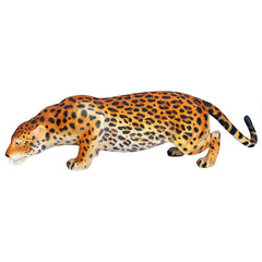 Prowling Spotted Jaguar Garden Statue