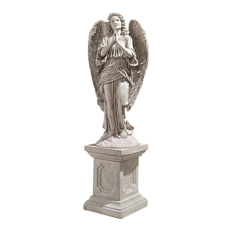 Grand Basilica Praying Angel Statue - Sculptcha