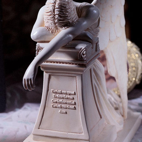 Estate Size Weeping Angel Monument Statue - Sculptcha