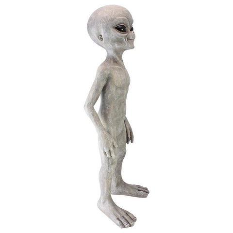 Large Out Of This World Alien Statue - Sculptcha