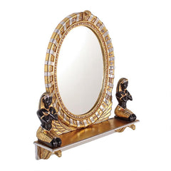 King Amenhotep Egyptian Vanity Mirror
