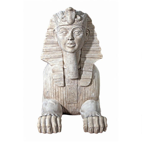 Grand Stone Egyptian Sphinx - Sculptcha