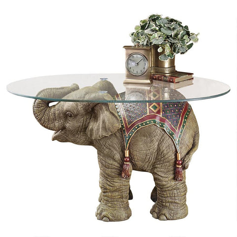 Jaipur Elephant Festival Table - Sculptcha