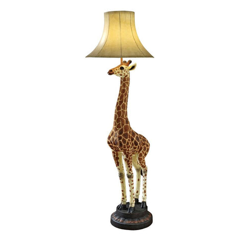 Heads Above Giraffe Floor Lamp - Sculptcha