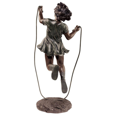 Memory Captured In Time Green Bronze Statue - Sculptcha
