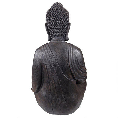 Meditative Buddha of the Grand Temple Garden Statue Large Sized - Sculptcha