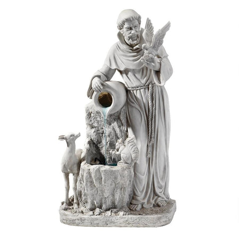 St Francis of Assisi Life Giver Fountain - Sculptcha