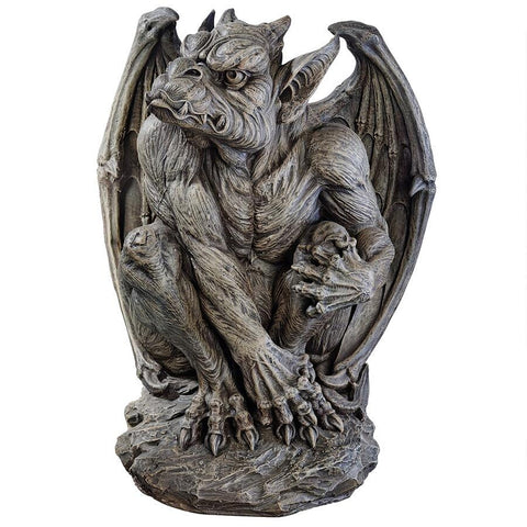 Large Silas The Gargoyle Sentinel Statue - Sculptcha