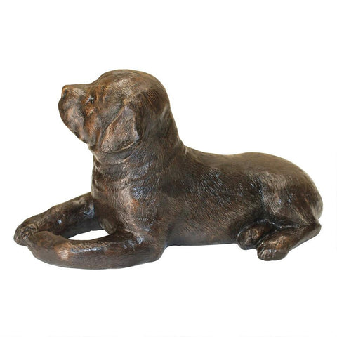Labrador Puppy Dog Bronze Statue - Sculptcha