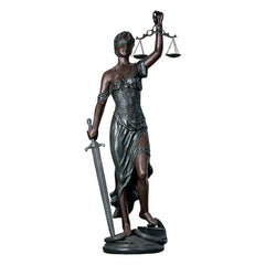Grande Themis Goddess of Justice Statue
