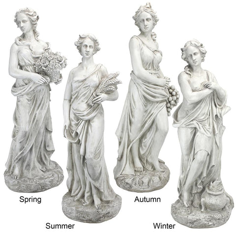 Set of Four Seasons Goddesses Statue - Sculptcha